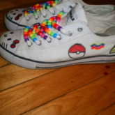 New Kandi Shoes :D <3 <3