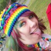 Me & My Beanie At Kitsap Pride '12