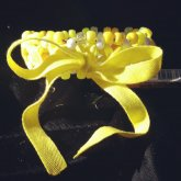 Yellow Ribbon Cuff