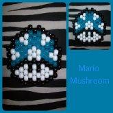 Blue Mario Mushroom Peyote