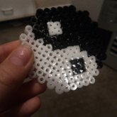 YinYang Perler Bead Creation