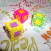 3 3-D Color Dice's