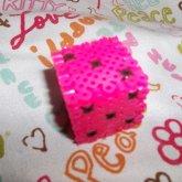 3-D Pink Dice