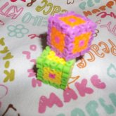 3-D Colourful Dice