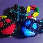 LED Deadmau5 Kandi Head And Normal Mau5 Head