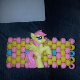 Fluttershy Cuff With Figure