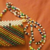 First Mini Kandi Purse Ive Ever Made :P