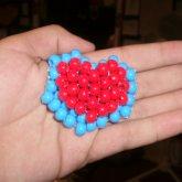 3-D Heart Container From Zelda