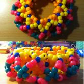 Crazy Color Cage Cuff