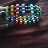 Rainbow See-Through Cuff