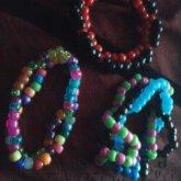 Random Kandi Bracelets.