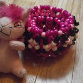 Pink Cage Cuff