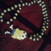 Soccer Spongebob Necklace.