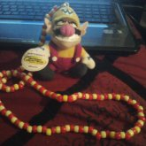 Wario Plushie Necklace