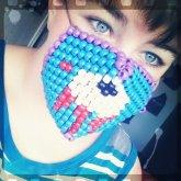 I Love This Gloomy Bear Mask