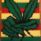 Marijuana Peace Leaf Panel