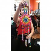 Iheartraves Rainbow Dream Catcher