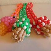 3D Mushroom Necklaces