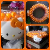Hello Kitty Orange 3D Cuff