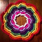 Rainbow Galaxy Cuff~