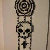 Skull Dream Catcher
