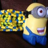 Yellow Minion 3D Cuff