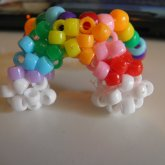3D Kandi Rainbow Single