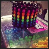 Rainbow Scale Cuff!