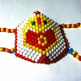 Sailor Moon Brooch Mask View 2
