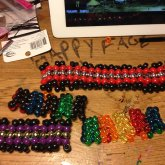 Herringbone Bracelets And Necklace