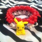 Pikachu/pokeball Themed 3d Cuff!