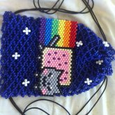 Nyan Cat Drawstring Bag :D