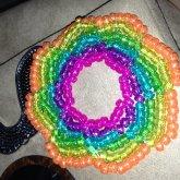 Rainbow Glitter Galaxy
