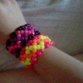 My 2 Zig-zag X Base Cuffs