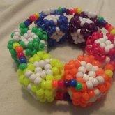 Rainbow + White Cube 3d.