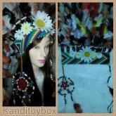 Kandi Dreamcatcher Headdress