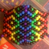 Intricate Rainbow Mask