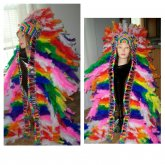 Epic Headdress Rainbow