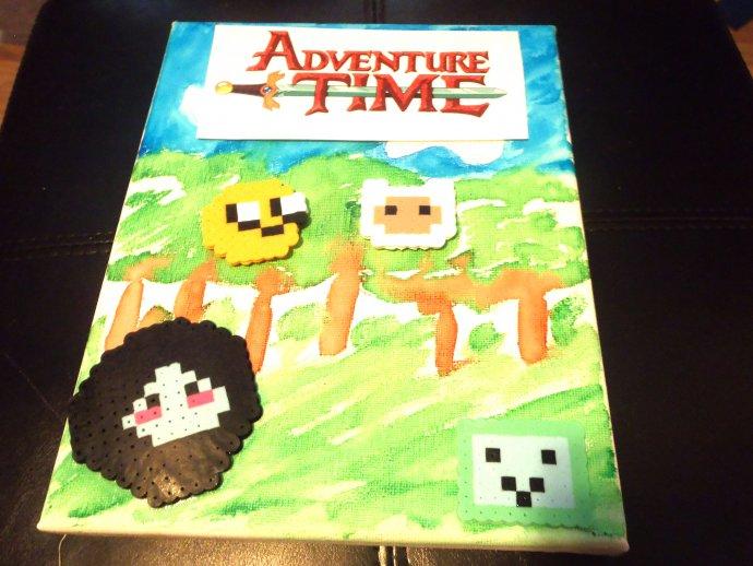 Adventure Time Painting By Moosyfate101 Kandi Photos On Kandi