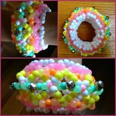 Pastel Cage Cuff With Bells