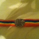 Rainbow Belt With Working Clasp