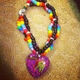 Resin Phattie Necklace :D