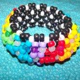 First 3D Cuff Rainbow (: