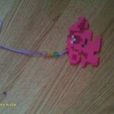 Magenta Best Friends Necklace