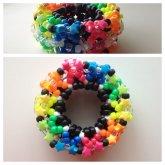 Rainbow Cage Cuff .