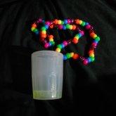 Glow Shot Glass Necklace