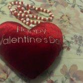 Happy Valentine's Day Neclace:)