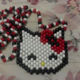 Hello Kitty Face Neclace:]