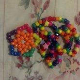 Neon Star Rainbow Neclace!