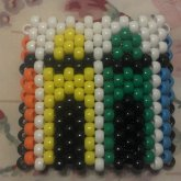 Side 1 Of Crayon Cuff:D